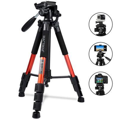Trípode Cámara Reflex Mactrem Trípode Completo Flexible PT55 con Rótula para Canon Sony Nikon DV iPad Movil iPhone -Trípode para Viajes