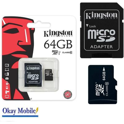 Original Kingston MicroSD SDHC Tarjeta de memoria de 64 GB para Samsung Galaxy J5 j500h de 64 GB