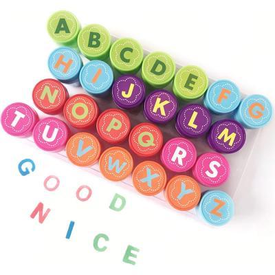Conjunto de Sellos Alfabeto Ppara Niños