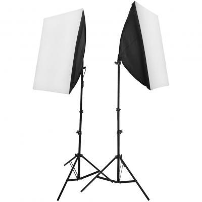 2 X Kit De Iluminación 50x70cm Softbox
