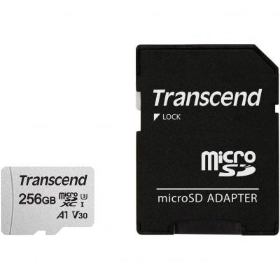 Transcend Usd300s  Tarjeta Microsd De 256 Gb