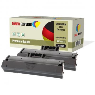 TONER EXPERTE Compatible MLT-D111S Cartucho de Tóner Láser para Samsung Xpress SL-M2020