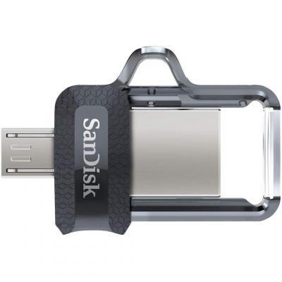 Memoria Flash USB SanDisk Ultra Dual m3.0 de 32 GB con USB 3.0 y hasta 150 MB s